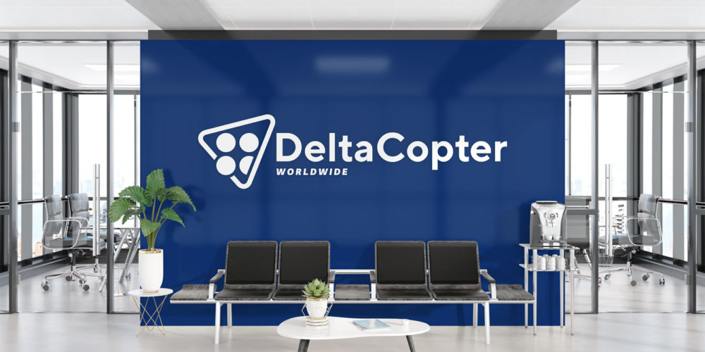 Deltacopter Logo Wall